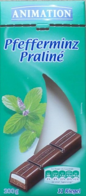 Animation Pfefferminz Praline 106 kcal_cr