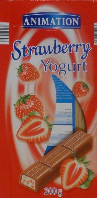 Animation Strawberry yogurt_cr
