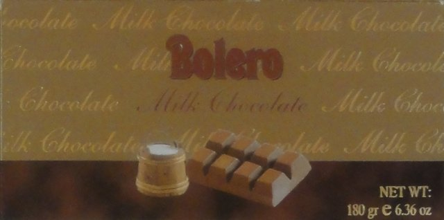 Bolero milk chocolate_cr