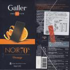 Galler noir 70 orange