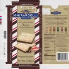 Ghirardeli 0 Peppermint Bark with Dark Chocolate