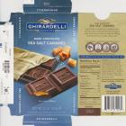 Ghirardelli 4 sea salt caramel dark chocolate