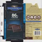 Ghirardelli 5 intense dark 86 cacao midnight reverie