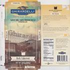 Ghirardelli 5 intense dark save me San Francisco dark cabernet