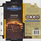 Ghirardelli 5 intense dark toffee interlude