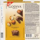 Godiva new milk chocolate hazelnut