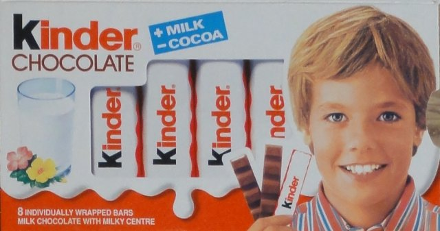 Kinder Chocolate prostokat paski milk cocoa 8 bars_cr