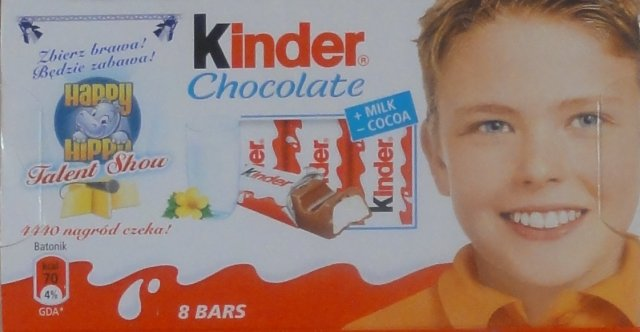 Kinder Chocolate prostokat zolta happy_cr