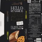 Lindt Hello Cookies Cream zolty