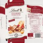 Lindt male pion 1 Cranberry-Haselnuss