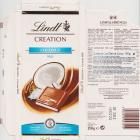 Lindt srednie creation coconut milk