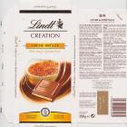 Lindt srednie creation creme brulee