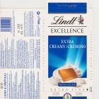 Lindt srednie excellence 1 extra creamy cremoso milk leche extra fine