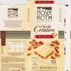 Moser Roth duze pion 7 chocolat creation weisse mandel