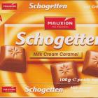Schogetten Mauxion male 2 Milk Cream Caramel New