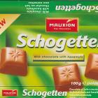 Schogetten Mauxion male 2 Milk chocolate with hazelnuts New