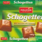 Schogetten Mauxion male 3 Milk chocolate with hazelnuts