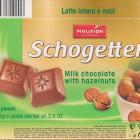 Schogetten Mauxion male 4 Milk chocolate with hazelnuts