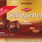 Schogetten Trumpf male 15 Dark chocolate New improved quality no artificial flavours