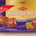 Schogetten Trumpf male 15 Praline Noisettes New improved quality no artificial flavours