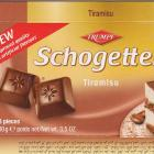 Schogetten Trumpf male 15 Tiramisu New improved quality no artificial flavours