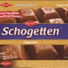 Schogetten Trumpf male 21 Cappuccino Selected ingredients No artificial flavours