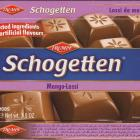 Schogetten Trumpf male 21 Mango-Lassi Selected ingredients No artificial flavours