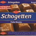 Schogetten Trumpf male 21 Praline Noisettes Selected ingredients No artificial flavours