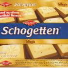 Schogetten Trumpf male 21 Trilogia Selected ingredients No artificial flavours