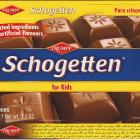 Schogetten Trumpf male 21 for Kids Selected ingredients No artificial flavours