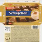 Schogetten Trumpf male 22 Cappuccino Selected ingredients With natural flavours