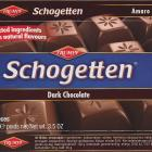 Schogetten Trumpf male 22 Dark Chocolate Selected ingredients With natural flavours