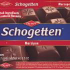 Schogetten Trumpf male 22 Marzipan Selected ingredients With natural flavours
