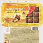 Schogetten Trumpf male 32 a la Almond Cream Cake taste of the year traditional german cake style