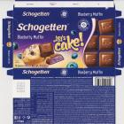 Schogetten Trumpf male 38 Blueberry Muffin Lets cake limited edition