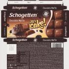 Schogetten Trumpf male 38 Chocolate Muffin Lets cake limited edition