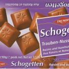 Schogetten Trumpf male 8 Trauben Nuss Raisins and Hazelnuts