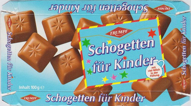 Schogetten Trumpf male 8 fur Kinder 2