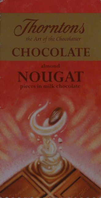 Thorntons chocolate almond nougat_cr