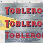 Toblerone honey and almond nougat limited edition