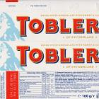Toblerone white with honey and almond nougat 100g