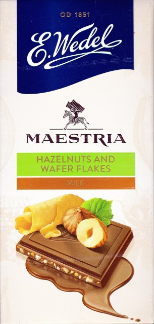 Wedel pion srednie maestria 2 hazelnuts and wafer flakes_cr