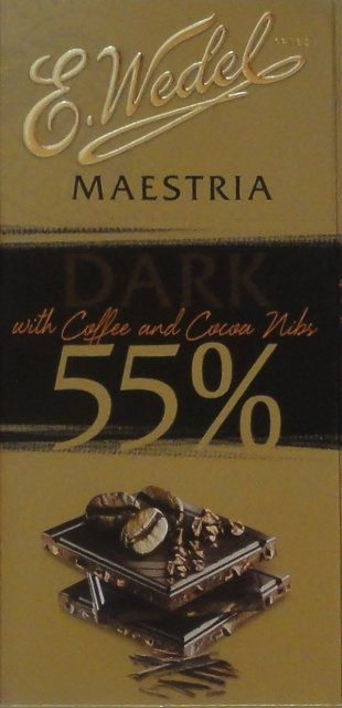 Wedel pion srednie maestria dark 55 with coffee and cacao nus_cr