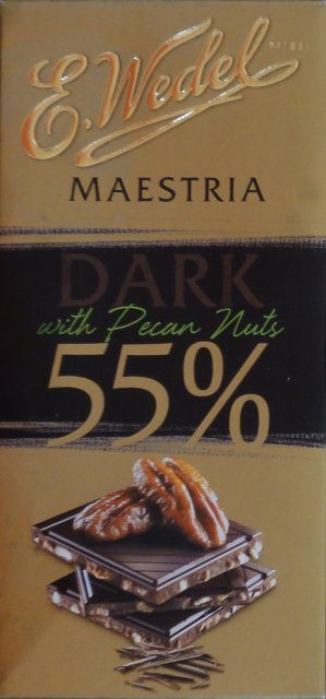 Wedel pion srednie maestria dark 55 with pecan nuts_cr